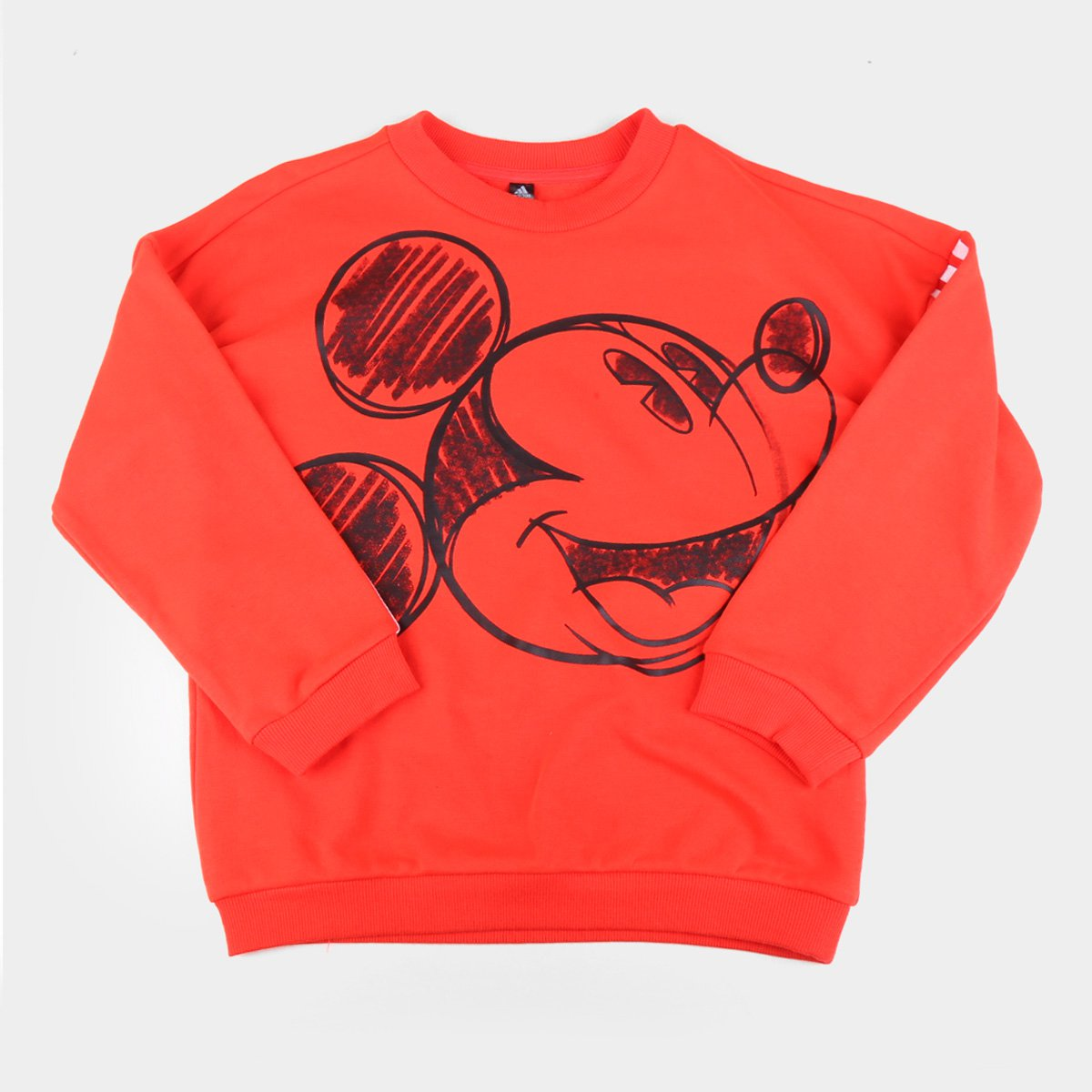 Moletom Infantil Adidas Mickey Mouse Crew Masculino