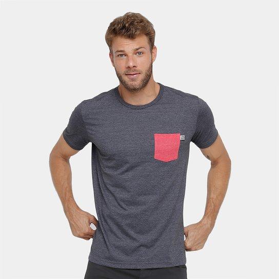 2bfaab0e7b Camiseta Red Bull Racing Sc Pocket Masculina - Cinza+Vermelho