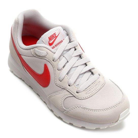 90e6e36a75f Tênis Infantil Nike Md Runner 2 - Vermelho e Cinza - Compre Agora ...