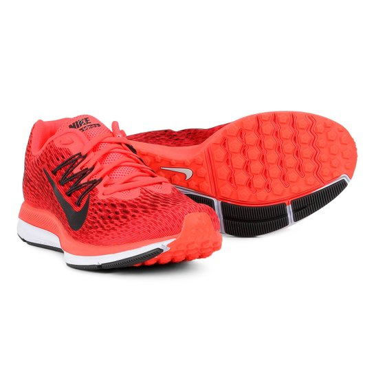b6286f6bb Tênis Nike Zoom Winflo 5 Masculino - Vermelho e Cinza - Compre Agora ...