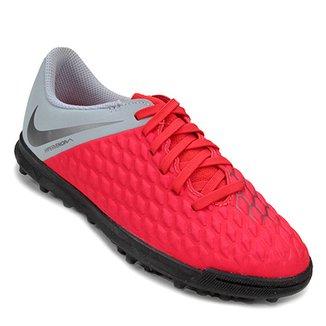 acfa675863 Chuteira Society Infantil Nike Hypervenom Phantom 3 Club TF