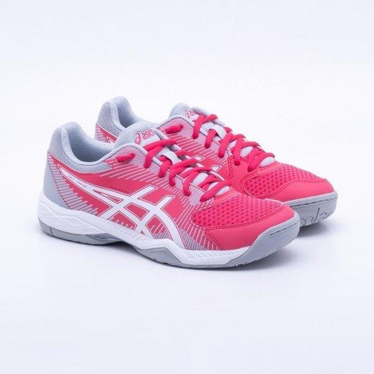 Tênis Asics Gel-Task Feminino - Vermelho e Cinza - Compre Agora ... c16210d2105c7