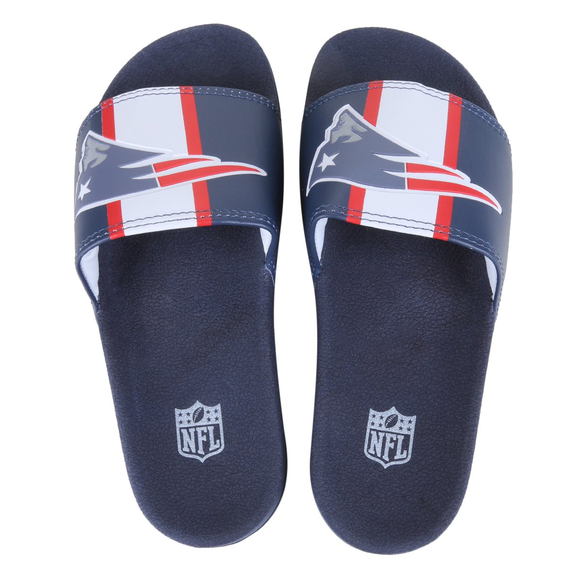 Chinelo Slide NFL New England Patriots Masculino