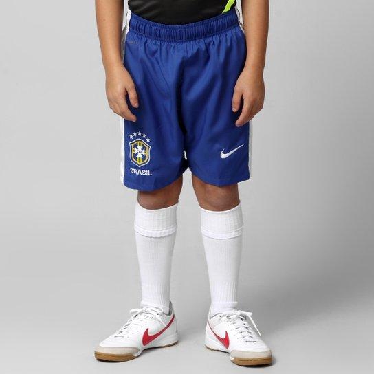 4cf2673d81 Calção Nike Seleção Brasil 2012 Infantil - Compre Agora