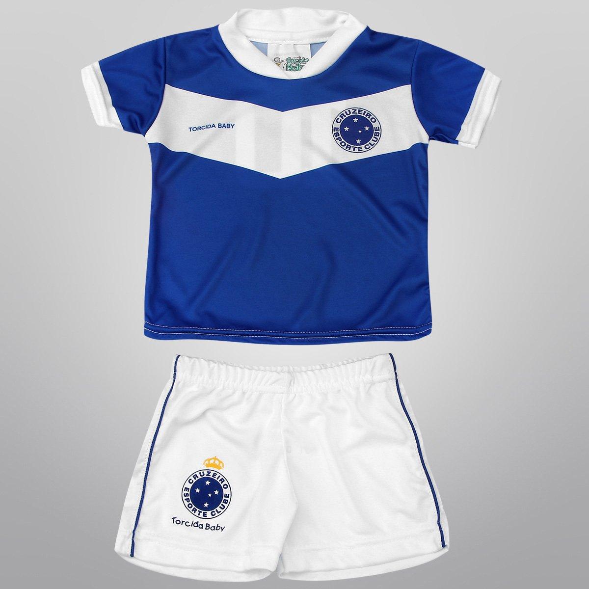 Conjunto Cruzeiro Sublimado Infantil