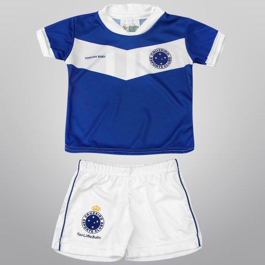 dbbd7be7ba Conjunto Cruzeiro Sublimado Infantil - Compre Agora