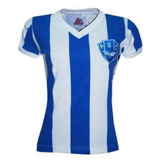 Camiseta Liga Retrô Paysandu 1987 Feminino c56bc5e659c38