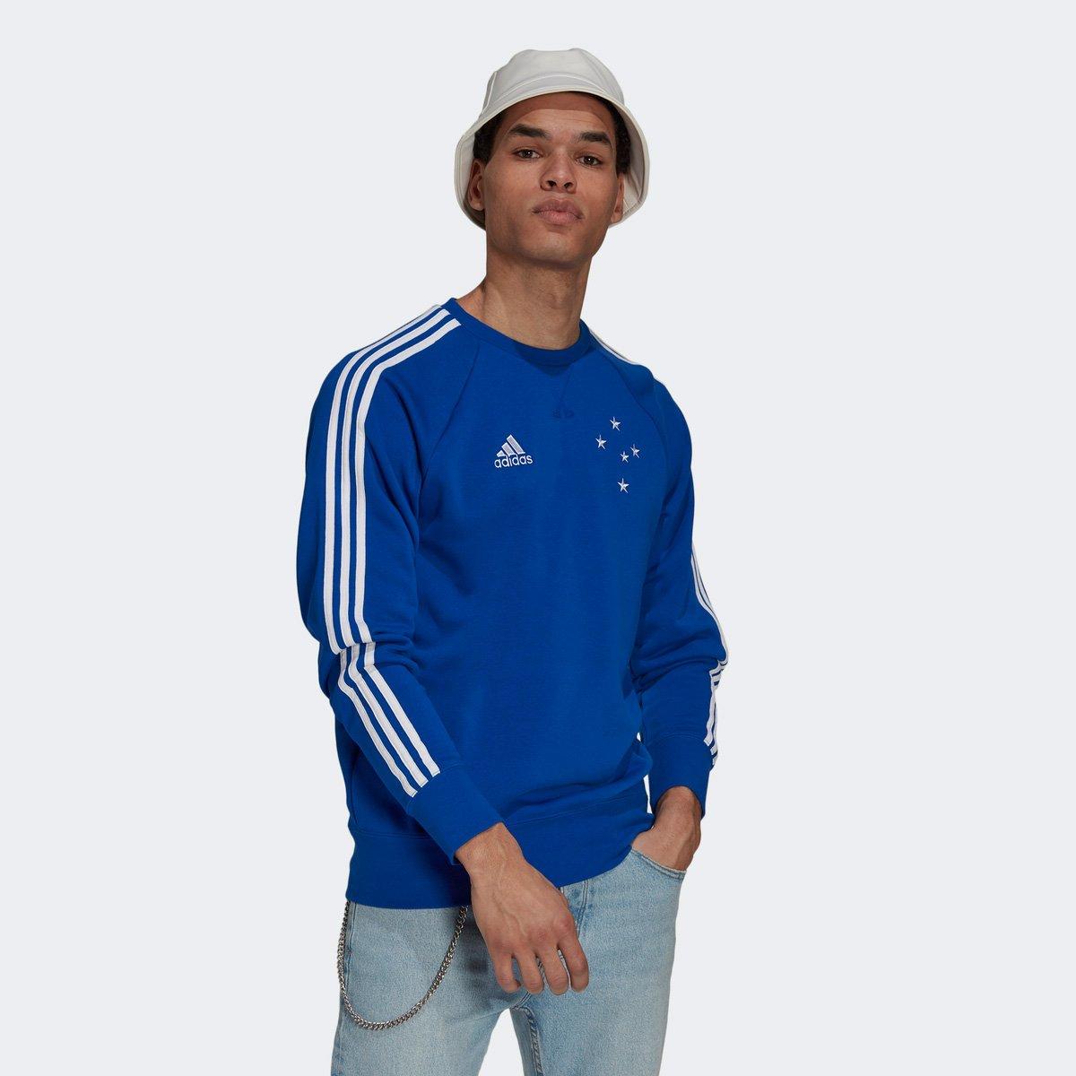 Moletom Cruzeiro Adidas Masculino