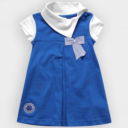 Vestido Cruzeiro Laço Infantil - Compre Agora  383b93293f352