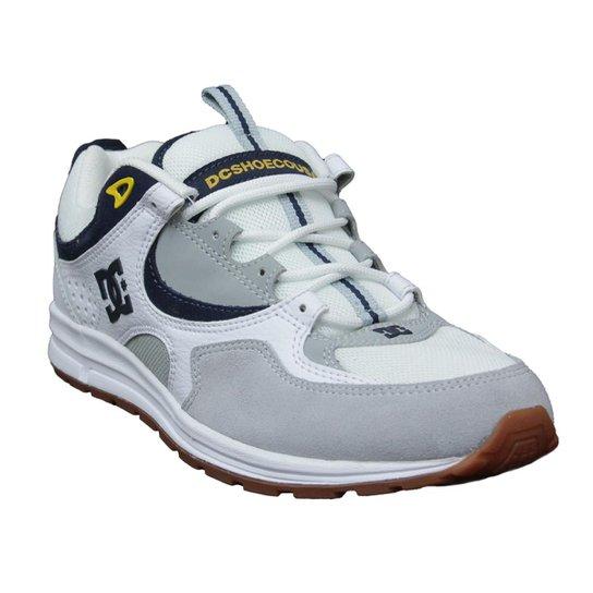 124dbe37be Tênis Masculino DC Shoes Kalis Lite - Branco+Cinza