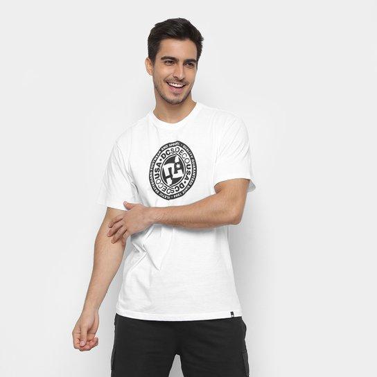 6b6fe79d39 Camiseta DC Shoes Circle Star Masculina - Branco e Cinza   Netshoes
