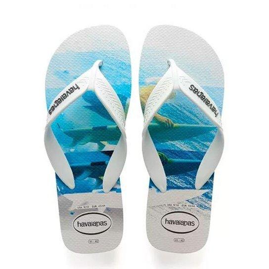 aa50e659c828 Chinelo Havaianas Surf Masculino - Azul e Branco - Compre Agora ...