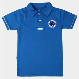 Camisa Polo Cruzeiro Juvenil Azul a103ee4cea9b8