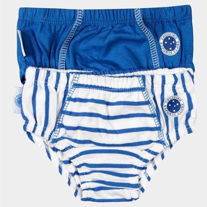 Kit Cruzeiro Infantil Duo Cuecas Bebê