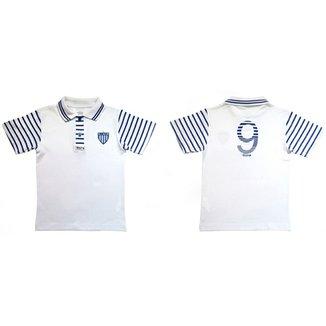 Camiseta Polo Meia Malha Menino Avaí Reve Dor - 2 Anos e3a7376cf4035