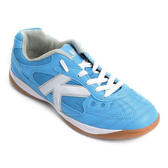 088cf54ffc Chuteira Futsal Kelme Copa - Azul e Branco
