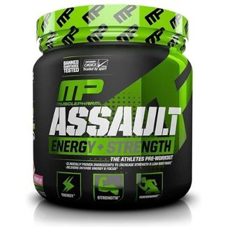 Pré Treino Assault MP MusclePharm 300g  Muscle Pharm