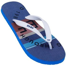5e7e4f66c15f30 Chinelo Reef Mick Fanning Prints II White Plaid 2 | Netshoes