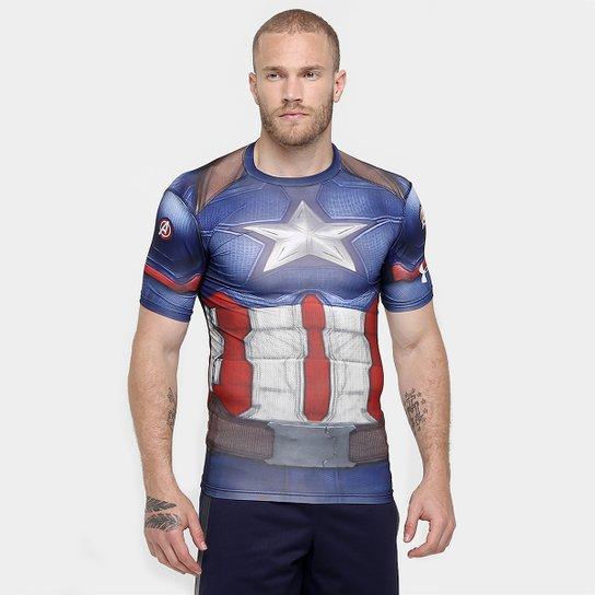 Camiseta Under Armour Captain America Suit Masculina - Compre Agora ... eb687f33936d8