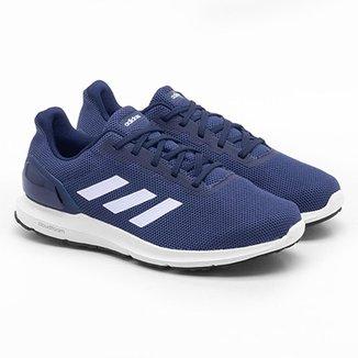 Compre Tenis Adidas Azul Online  a802a84b925c9