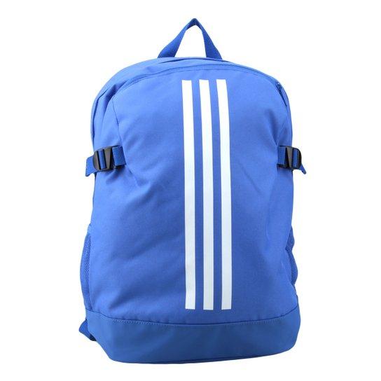 339e5158a Mochila Adidas Bp Power Iv - Azul e Branco   Netshoes