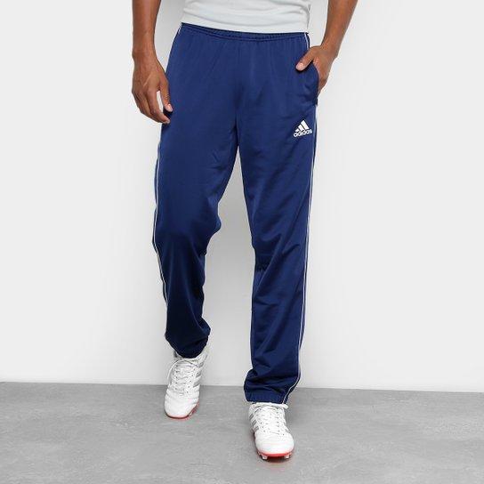 Calça Adidas Poliéster Core 18 Masculina - Compre Agora  ca2f7d61414e7