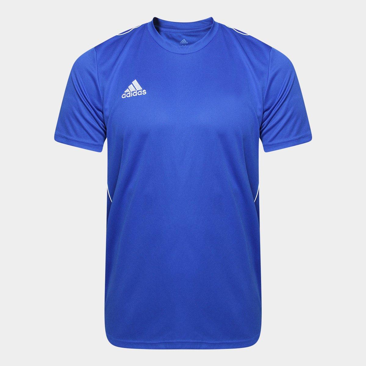 Compre Camisa Adidas Azul Online  163c06c2a136f