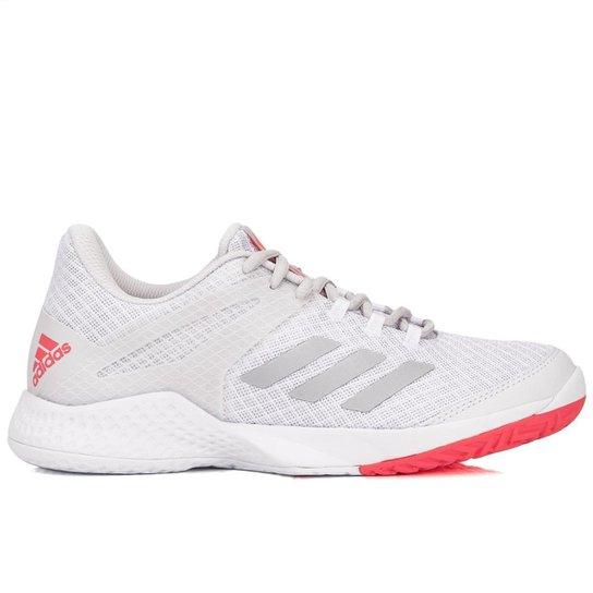 Tênis Adidas Adizero Club 2 Feminino - Branco e Cinza - Compre Agora ... 7955cd88938ce