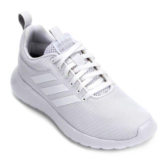 1dc6199958855 Tênis Adidas Lite Racer Cln Feminino - Branco e Cinza - Compre Agora ...