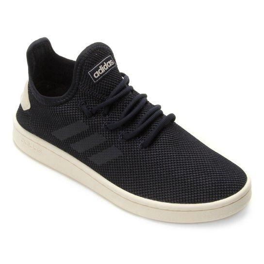 b10bb15c325 Tênis Adidas Court Adapt Feminino - Marinho e Branco - Compre Agora ...