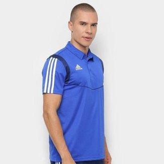 c677717920164 Compre Camisa Polo Adidas Azulcamisa Polo Adidas Azul Online