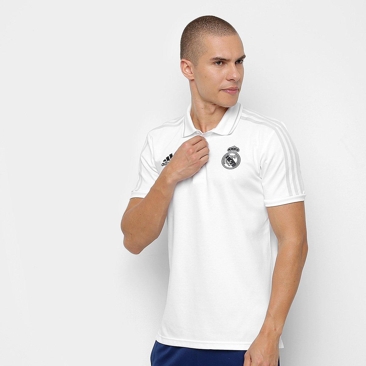 44971f75b8 Camisa Polo Real Madrid Treino Adidas Masculina