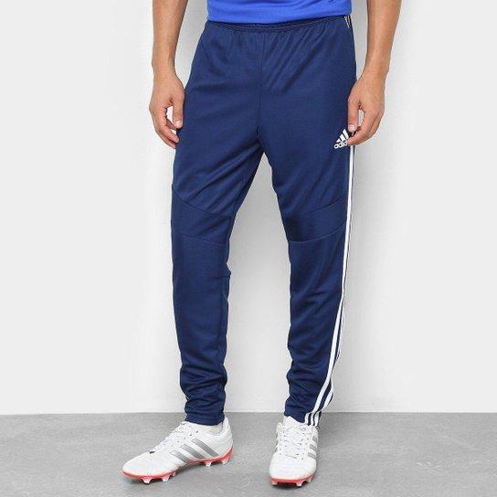 Calça Adidas Treino Tiro 19 Masculina - Azul e Branco - Compre Agora ... 3eb2ae1ca046f