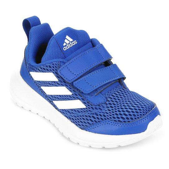 e94781c8d17 Tênis Infantil Adidas Altarun Velcro - Azul e Branco - Compre Agora ...