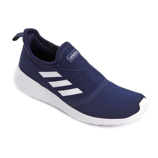2e0f5dea6 Tênis Adidas Lite Racer Slipon - Azul e Branco - Compre Agora