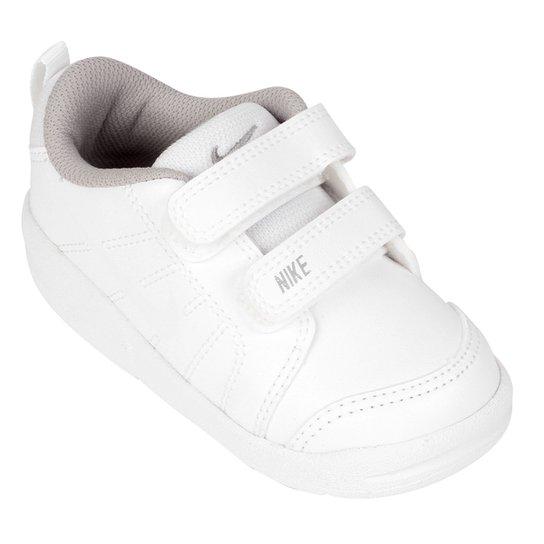 2313117de0d Tênis Infantil Nike Pico Lt Masculino - Branco e Cinza - Compre ...