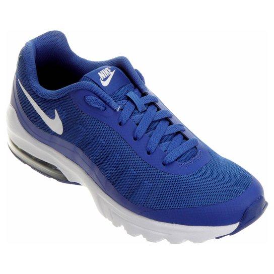 e6daf38254 Tênis Nike Air Max Invigor Masculino - Azul e Branco - Compre Agora ...