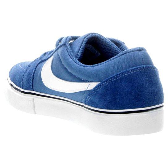 8b4a75529cc ... Tênis Nike Sb Satire Ii - Azul+Branco ...