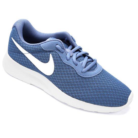6a05a6ecf5e Tênis Nike Tanjun Feminino - Azul e Branco - Compre Agora