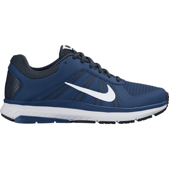 Tênis Nike Dart 12 MSL Masculino - Azul e Branco - Compre Agora ... fa400c3c92251