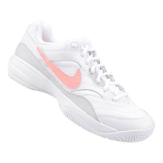 c3b5a4013 Tênis Nike Wmns Nike Court Lite Feminino - Branco e Cinza
