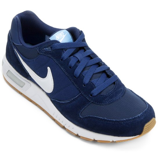 c4575a4decd Tênis Nike Nightgazer Masculino - Azul e Branco - Compre Agora ...