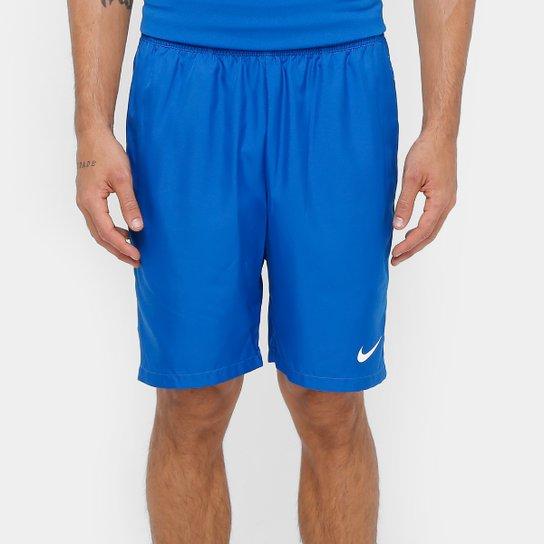 Short Nike Dry 9 Polegadas Masculino - Azul e Branco - Compre Agora ... 8cf7f7d45c15a