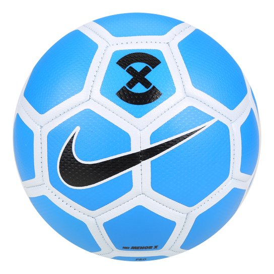 35f805bad25f2 Bola Futsal Nike FootballX Menor - Azul+Branco. Loading.