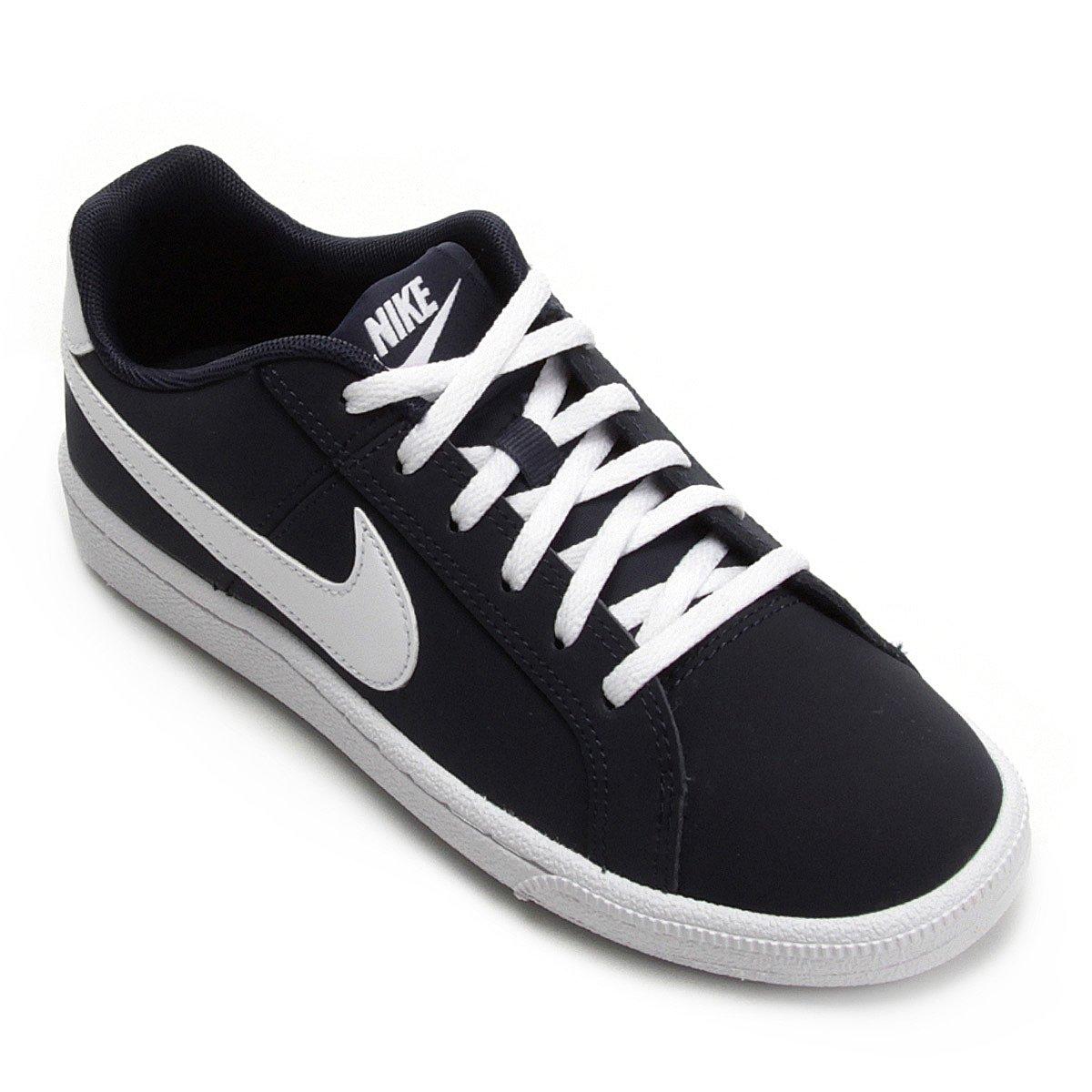 014ba7eb99 Tênis Infantil Couro Nike Court Royale Masculino
