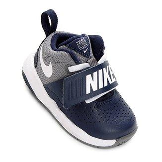 2c4145af1 Tênis Infantil Couro Nike Team Hustle D Masculino