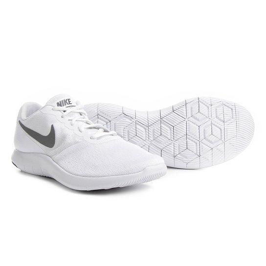 c9e72832769ac Tênis Nike Flex Contact Masculino - Branco e Cinza - Compre Agora ...