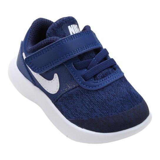 8810adbb238 Tênis Infantil Nike Flex Contact Masculino - Azul e Branco - Compre ...