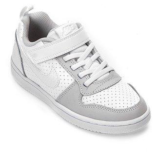 72a7a90df4 Tênis Infantil Nike Court Borough Low Feminino