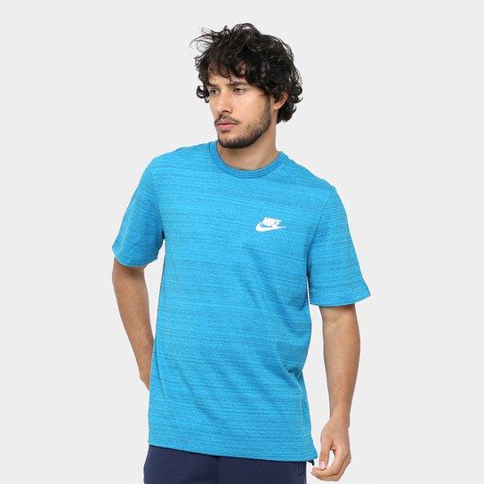 Camiseta Nike Av15 Top Ss Knit Masculina - Compre Agora  6c3085911c7d7